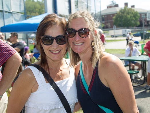 Nancy Sapper, Erika Srinivasan. The 55th annual Closter