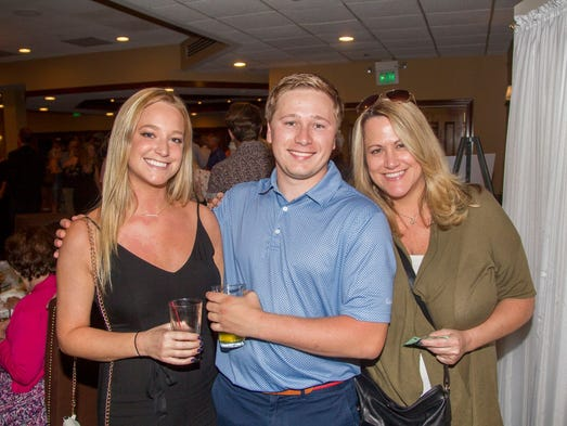 Hailey, Andrew, Mary Adams. Ken's Krew held its annual
