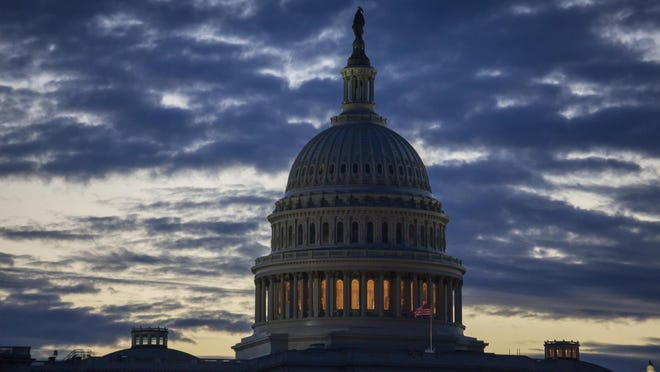 The number of furloughed federal employees seeking unemployment benefits jumped in the first two weeks of the shutdown, topping 10,000 during the week of Jan. 5.