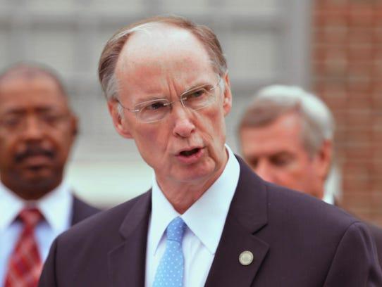 Alabama Governor Robert Bentley,  shown here in 2012,