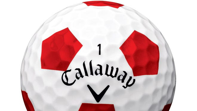 Callaway's new Chrome Soft Truvis golf balls.