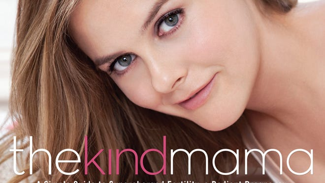 Alicia Silverstone's new book, The Kind Mama, will be published by Rodale Books on April 15.