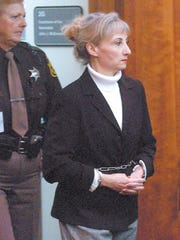 Nancy Seaman in Oakland County Circuit Court for her 2004 trial.