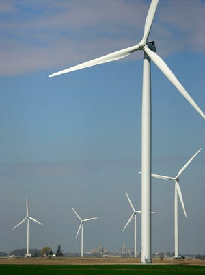 Windmills are a favored source of alternative energy.
