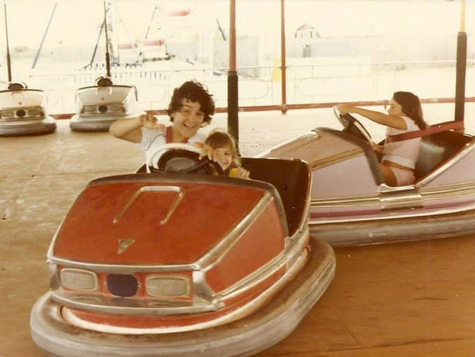 The bumper cars at Magic Isles. Magic Isles was an