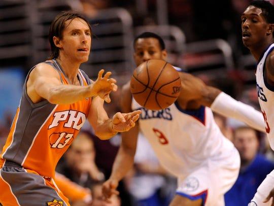 Nov. 9, 2009; Philadelphia; Phoenix Suns guard Steve