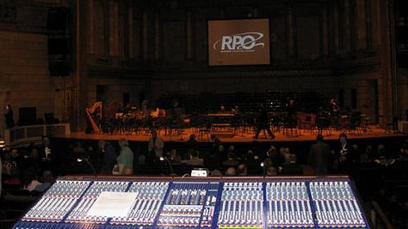 """They were preparing the stage as I entered Kodak Hall for the presentation of Howard Hansen's opera, """"Merry Mount."""""""