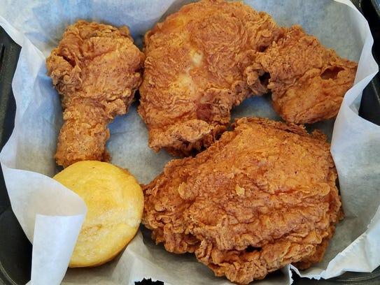 Fried Chicken at BC's Chicken Coop.