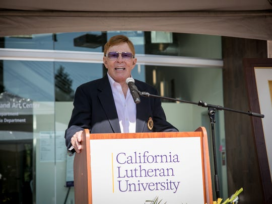 William Rolland, who was recently named Ventura County's philanthropist of the year, says his favorite Thanksgiving memory was from years ago when he was a firefighter.