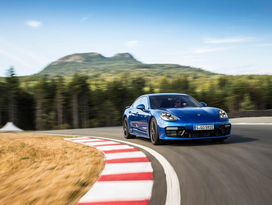 Porsche's Panamera Turbo S E-Hybrid is the top of the