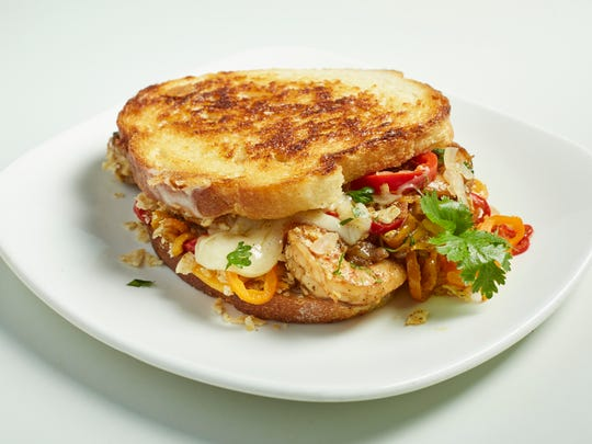 Shrimp Nacho Sandwich