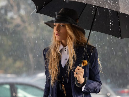 """Blake Lively drew style inspiration from """"Simple"""" director Paul Feig for her character's swanky suits."""