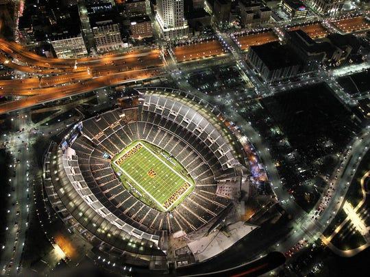Paul Brown Stadium.