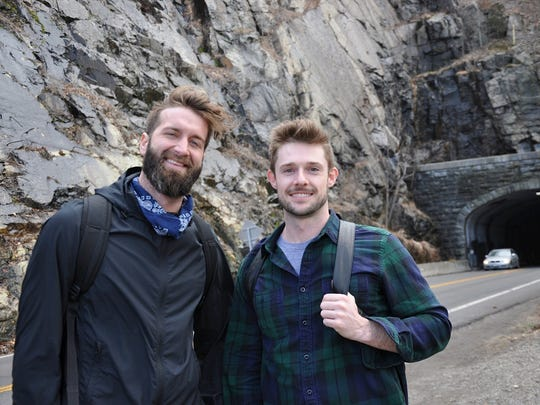Andrew Hasty, 30, and Daniel Shea, 31, of the East
