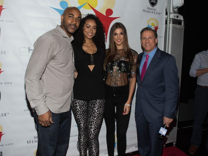 David Tyree (NY Giants/Event Host), Kára McCullough
