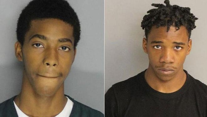 Tyrese Rouse, left, and Tyquan Rouse