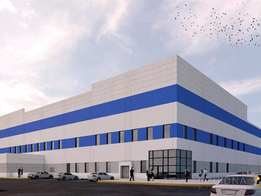 TPI wind-blade factory