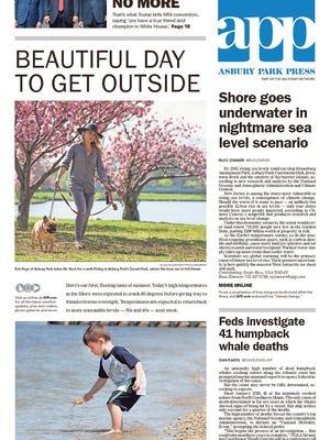Asbury Park Press Saturday, April 29, 2017