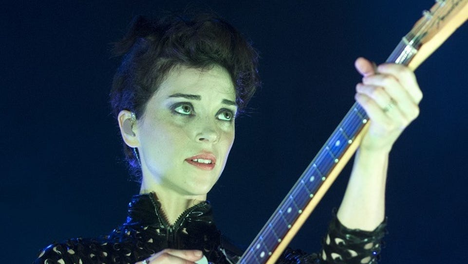 St. Vincent performs Friday at Old National Centre.