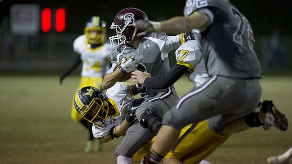 Swain County beat Murphy, 20-13, on Friday in Bryson City.