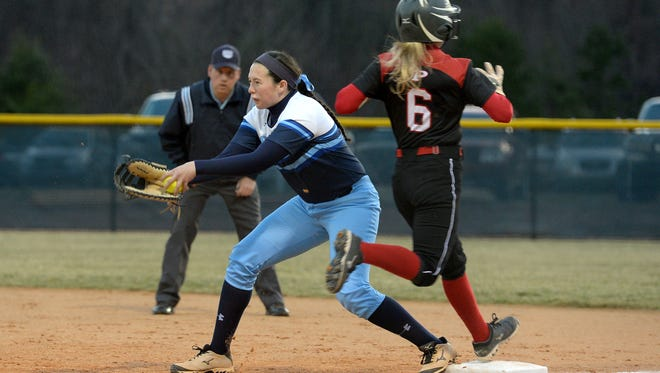 Enka senior Addison Harris has committed to play college softball for Mars Hill
