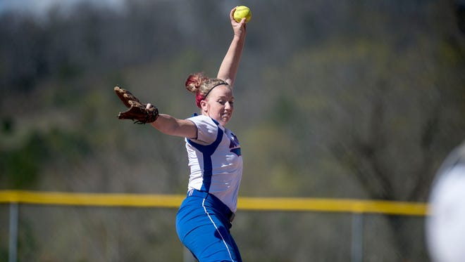 Samantha Gosnell and Madison are home for Wednesday's third round of the NCHSAA 2-A softball playoffs.