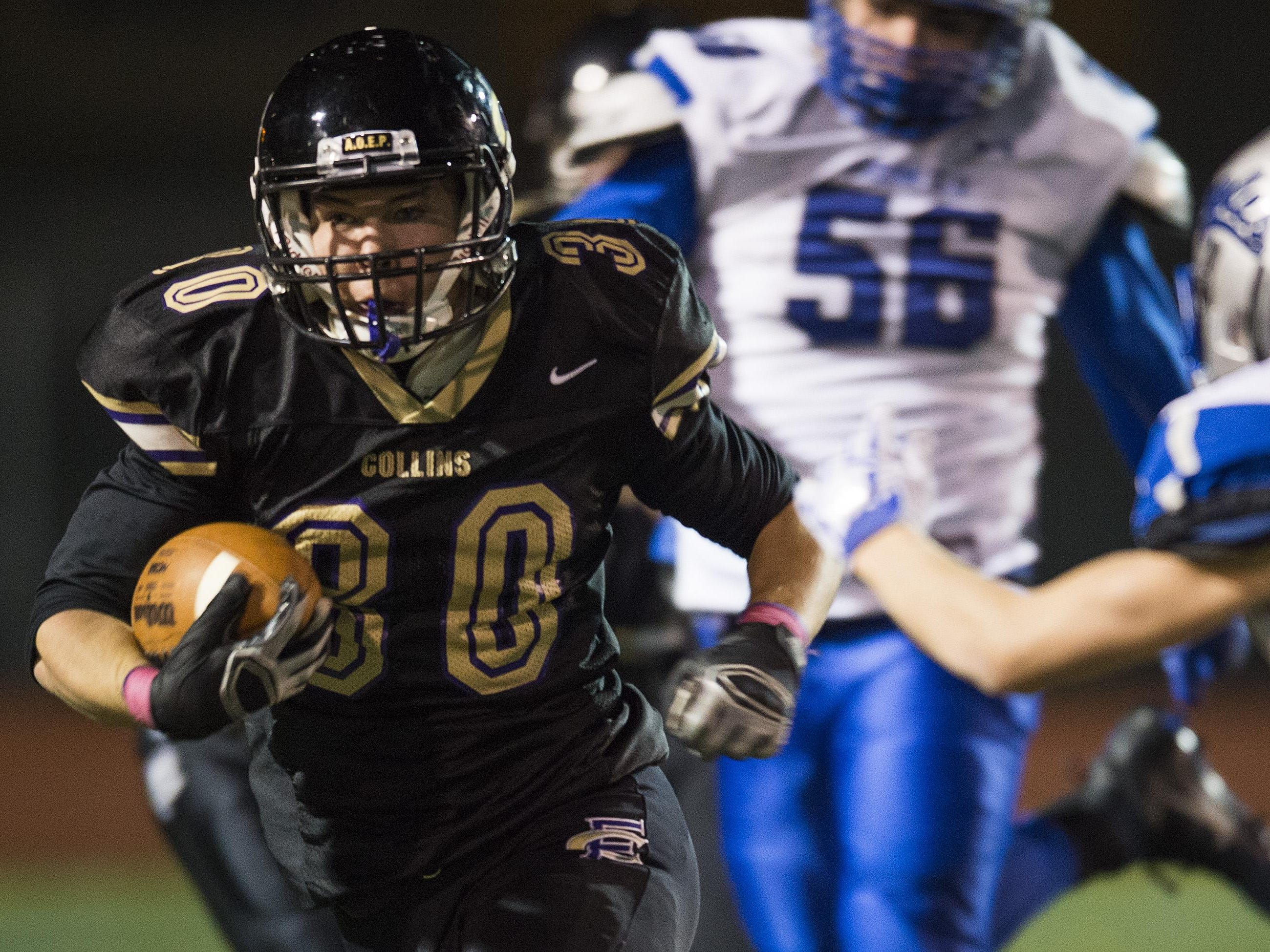 More than 250 yards rushing against Broomfield has moved Fort Collins' Sam Bostak up the leaderboard in rushing stats.
