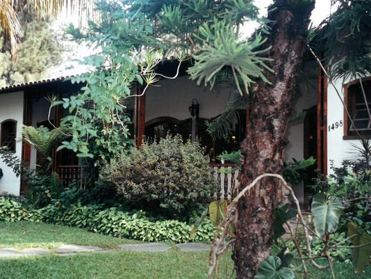 The house I shared with 20+ soccer players near the Cruzeiro practice grounds.