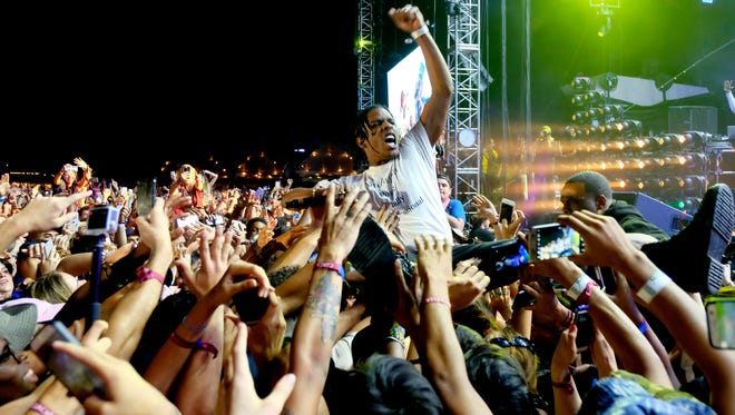 A$AP Rocky will perform at Firefly Music Festival in Dover on June 18.