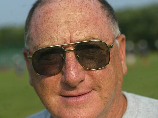 Long-time Lacey head coach Lou Vircillo, shown in 2007,