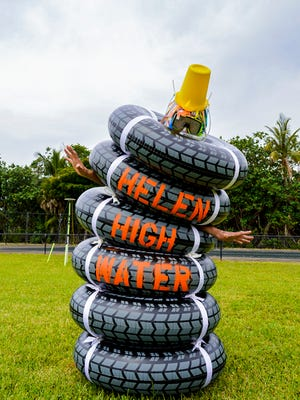 Helen High Water will join the Rauschenberg Residency members in highlighting their concerns about climate change on Saturday.
