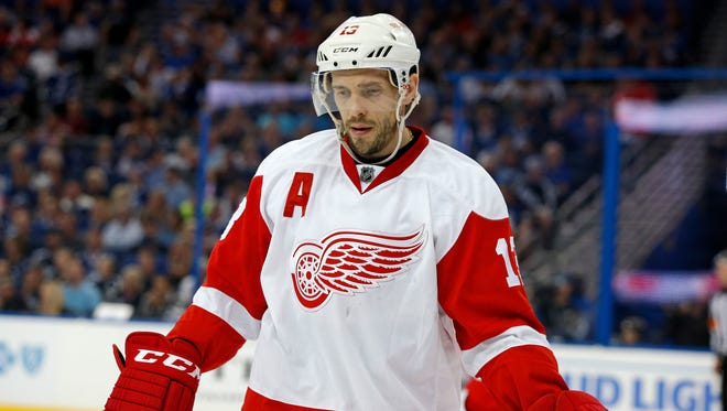 Red Wings center Pavel Datsyuk