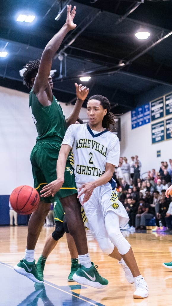 Asheville Christian Academy's Caleb Mills committed to the University of Houston over the weekend.