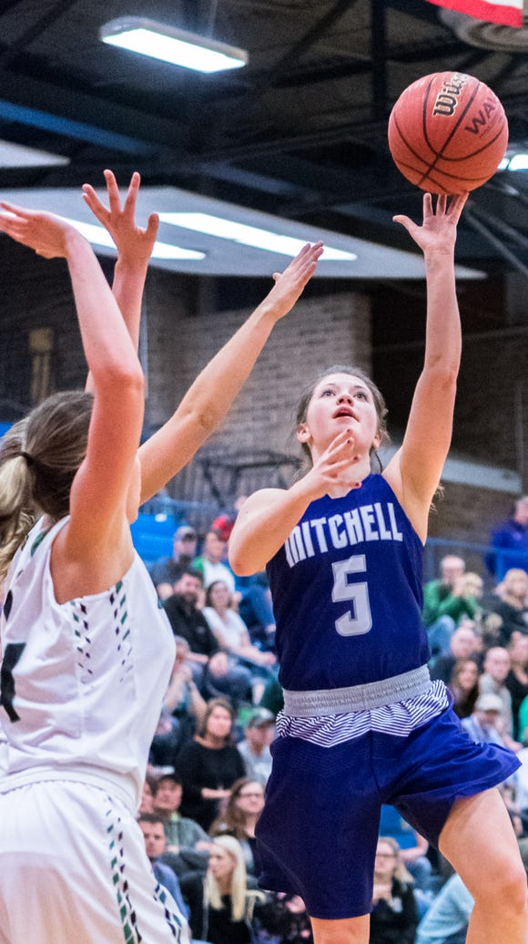 Mitchell high school's Emma Duncan in the Western Highlands