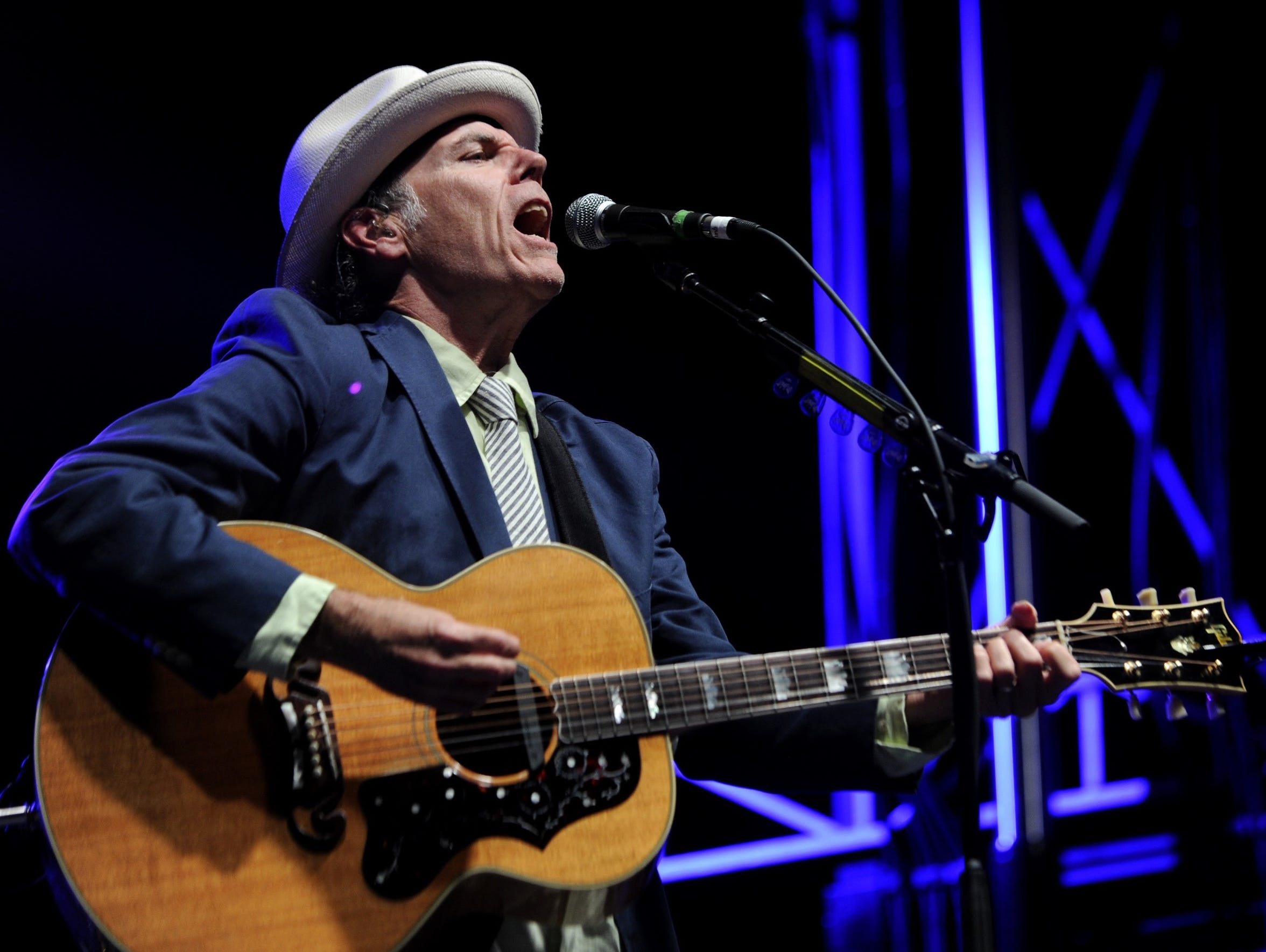 John Hiatt received the Americana Music Association's