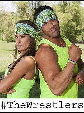 Rob Strauss of the Iselin section of Woodbridge and Brooke Adams are a team on the coming season of The Amazing Race. The season starts 8 p.m. Friday on CBS.