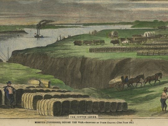 Drawing of early Memphis