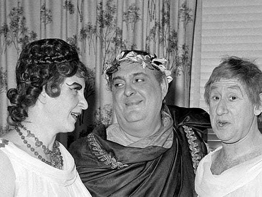 Actor Zero Mostel, star of the original production