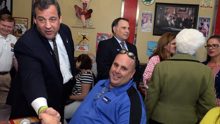 DERRY, NH - JULY 3:  New Jersey Governor and Republican
