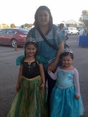 Lexie, Haydee and Jaylee Estrada.