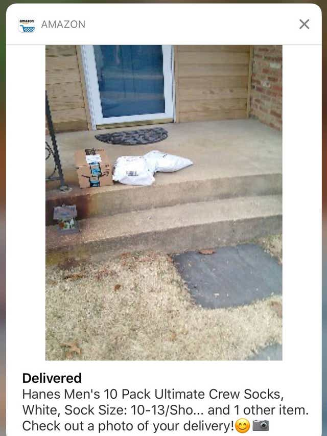 Why Amazon Is Sending You Pictures Of Your Front Porch