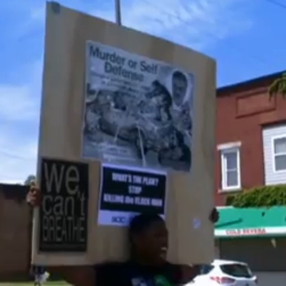 May 24, 2014: Protesters marched through the St. Clair