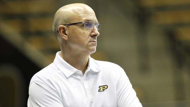 Dave Shondell hopes Purdue volleyball's victory at No. 9 Stanford will help its NCAA  tournament standing.