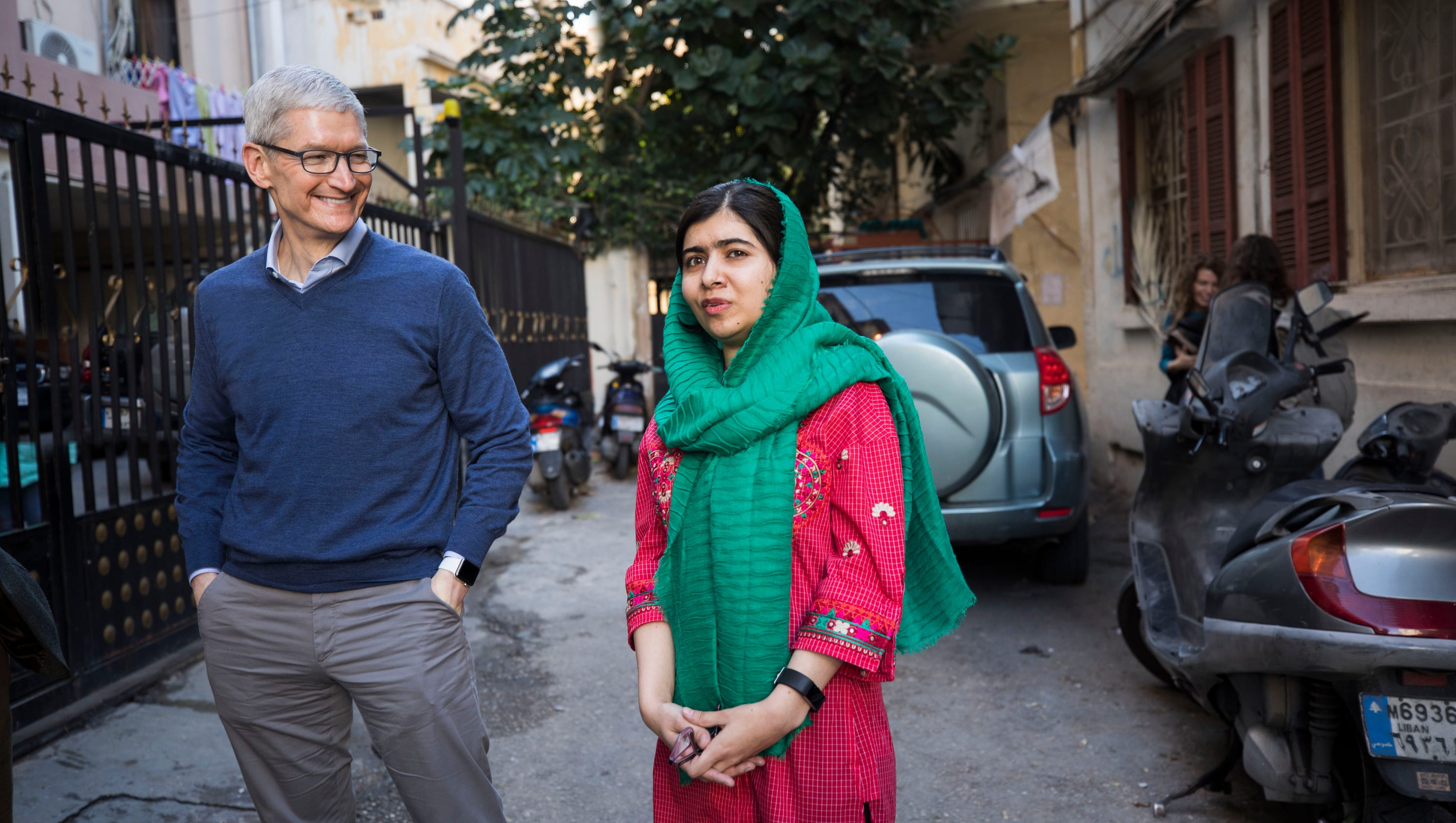Apple makes significant investment in Malala's education fund