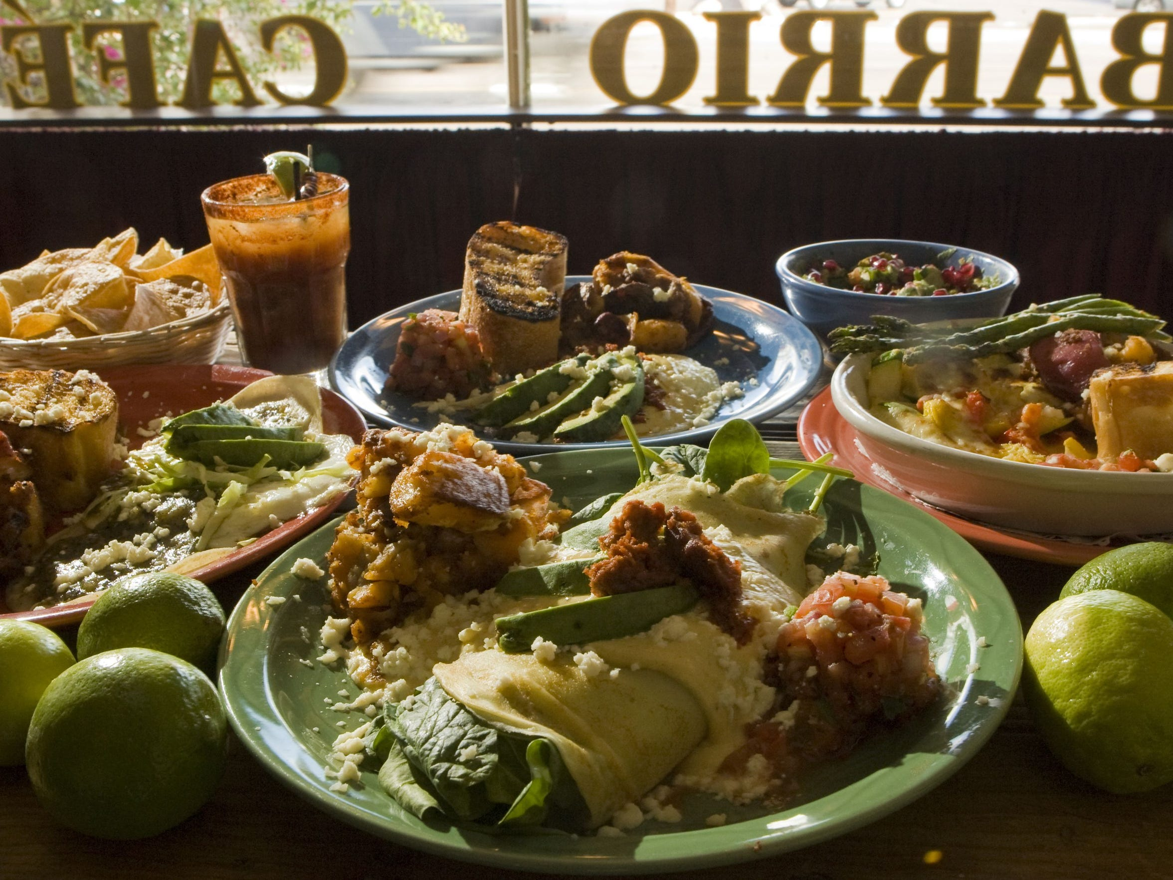 Chef Silvana Salcido Esparza's widely recognized Mexican restaurant Barrio Cafe is a first-stop meal for scores of international visitors.