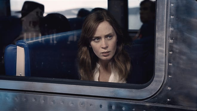 """EMILY BLUNT stars in DreamWorks Pictures' """"The Girl on the Train,"""" from director Tate Taylor and producer Marc Platt. In the thriller, Rachel (Blunt), who is devastated by her recent divorce, spends her daily commute fantasizing about the seemingly perfect couple who live in a house that her train passes every day, until one morning she sees something shocking happen there and becomes entangled in the mystery that unfolds."""