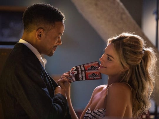 """Will Smith and Margot Robbie are romantically entangled con artists in """"Focus."""""""