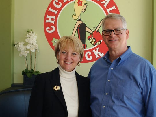 Franchisees Carolyn and Bob Gosselin brought the Chicken Salad Chick concept to Tallahassee.