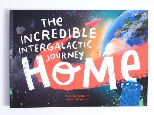 London-based Lost My Name uses satellite maps and other data to create customized books that go beyond similar products. This book tells the story of a child's journey home from outer space.