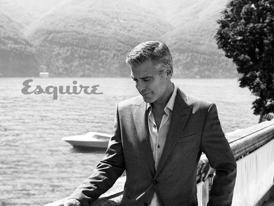 George Clooney Esquire